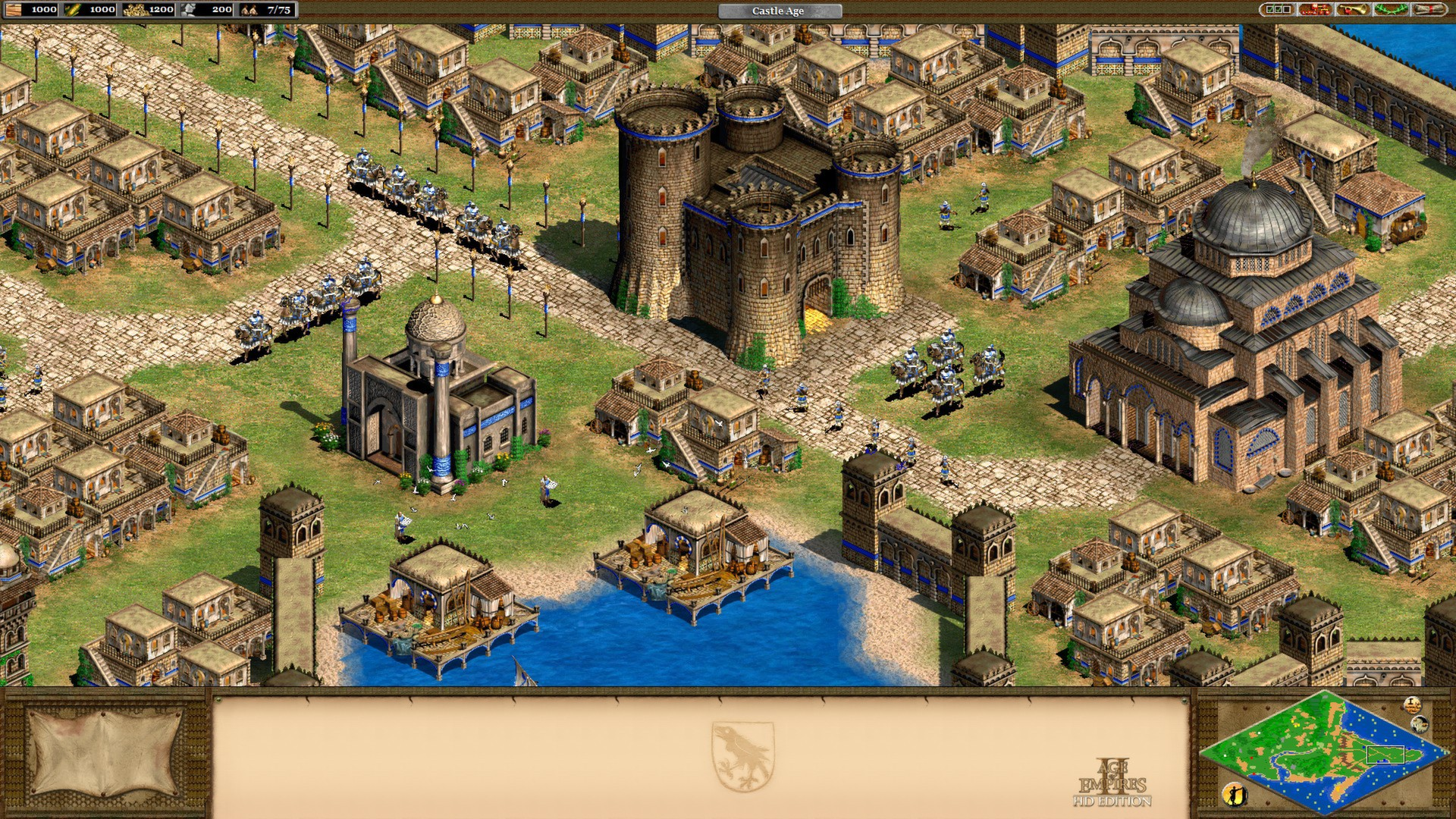 The Age of Empires series developed by Ensemble is a classic 4X game and one of the finest strategy games ever made.