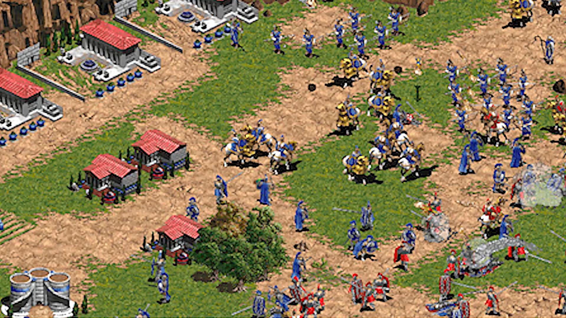 Age of Empires: DE - before
