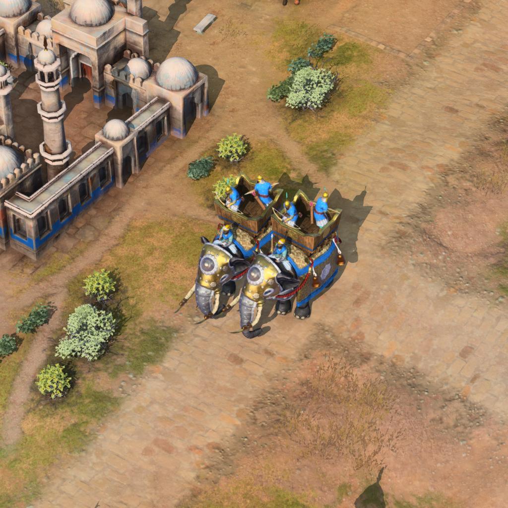 Tower War Elephant