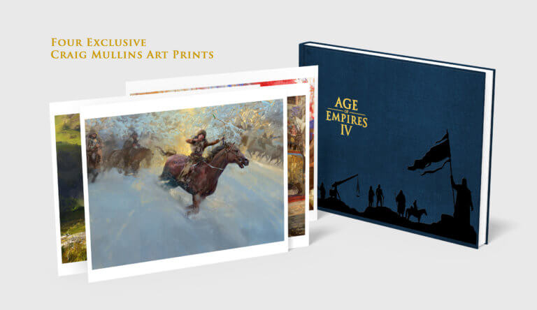 'Get The Official Age of Empires IV Companion Book!' thumbnail