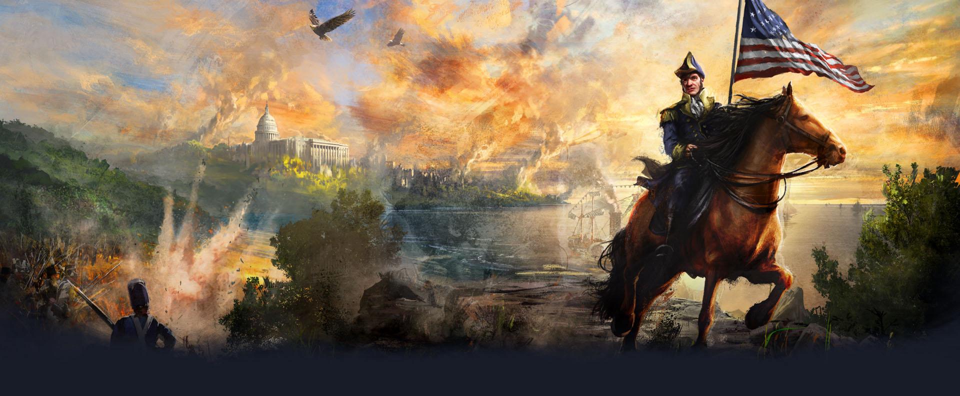 Age of Empires III: Definitive Edition – United States Civilization addon
