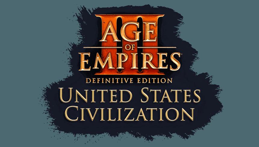 Age of Empires III: Definitive Edition – United States Civilization title logo