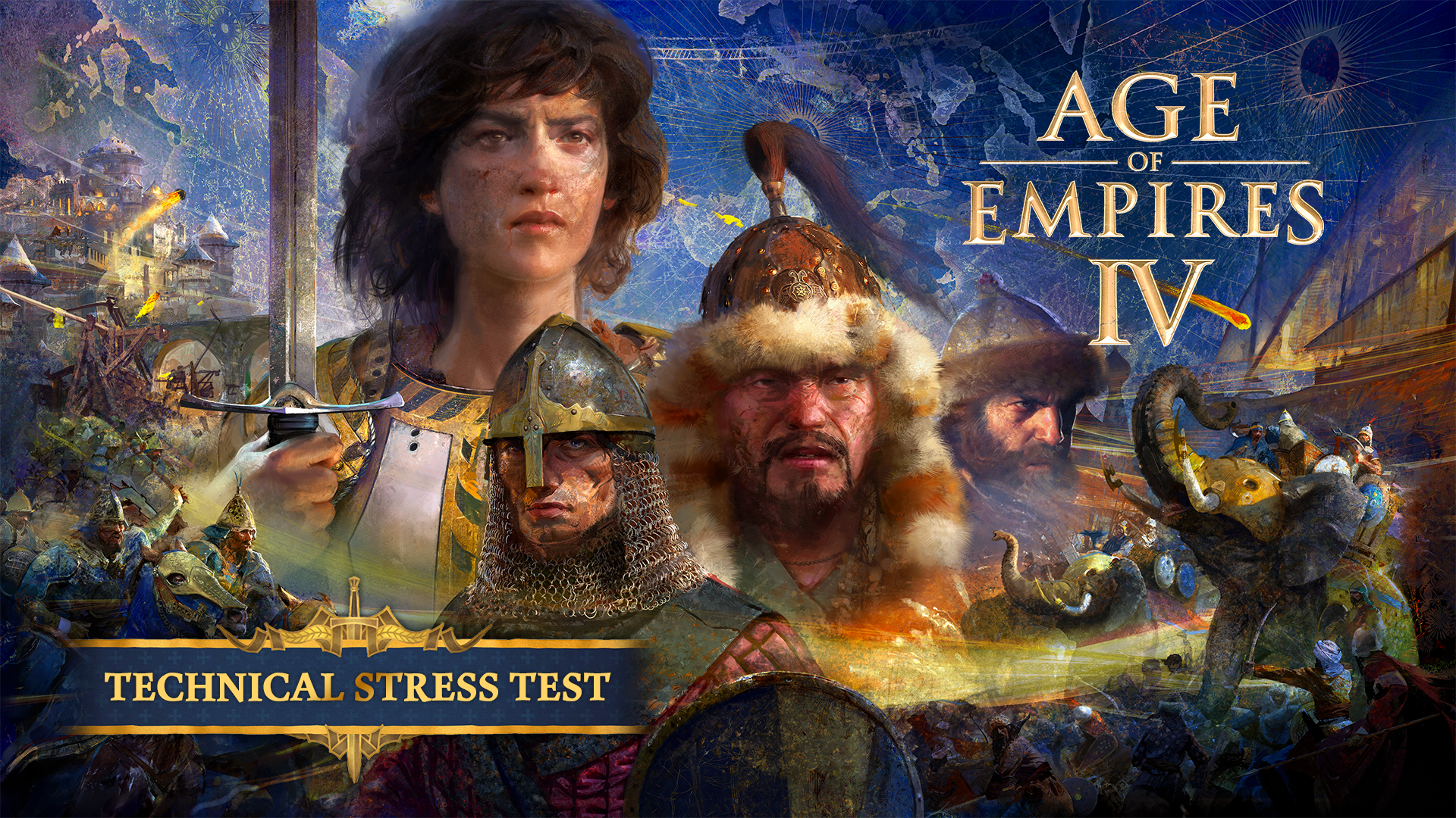 Join the Age of Empires IV Technical Stress Test